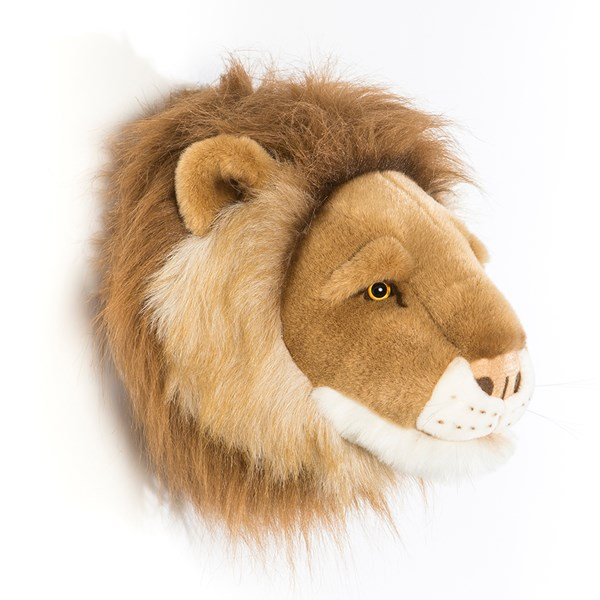 Wall Mounted Faux Fur Animal Trophy Head