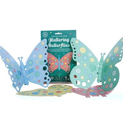 FLUTTERING BUTTERFLIES Activity Set