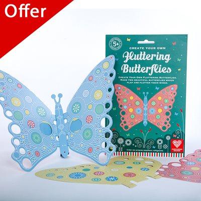 FLUTTERING BUTTERFLIES Activity Set