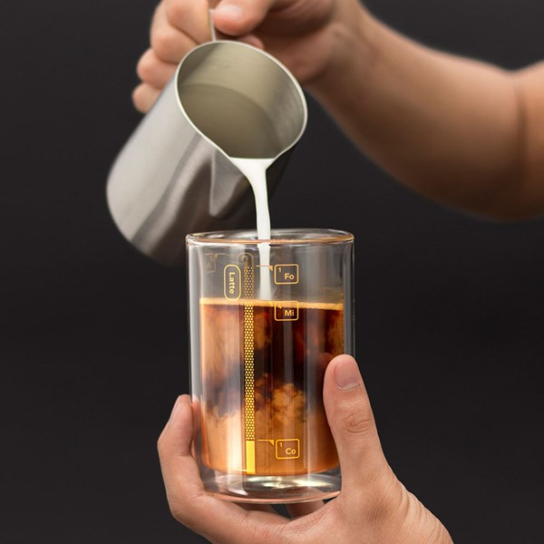 Luckies Coffee Lab Tumbler with Measuring Guide