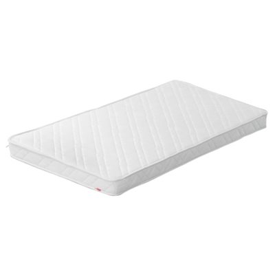COT BED FOAM MATTRESS with Quilted Cover (suitable for use with Flexa Baby and Toddler Bed)