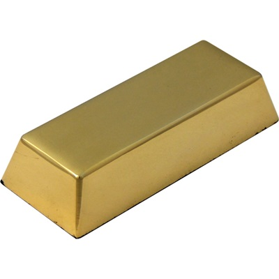 GOLD PLATED INGOT PAPERWEIGHT