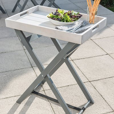 GRIGIO GARDEN BUTLER TABLE