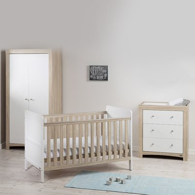 EAST COAST FONTANA ICE NURSERY & BABY'S 3PC ROOM SET