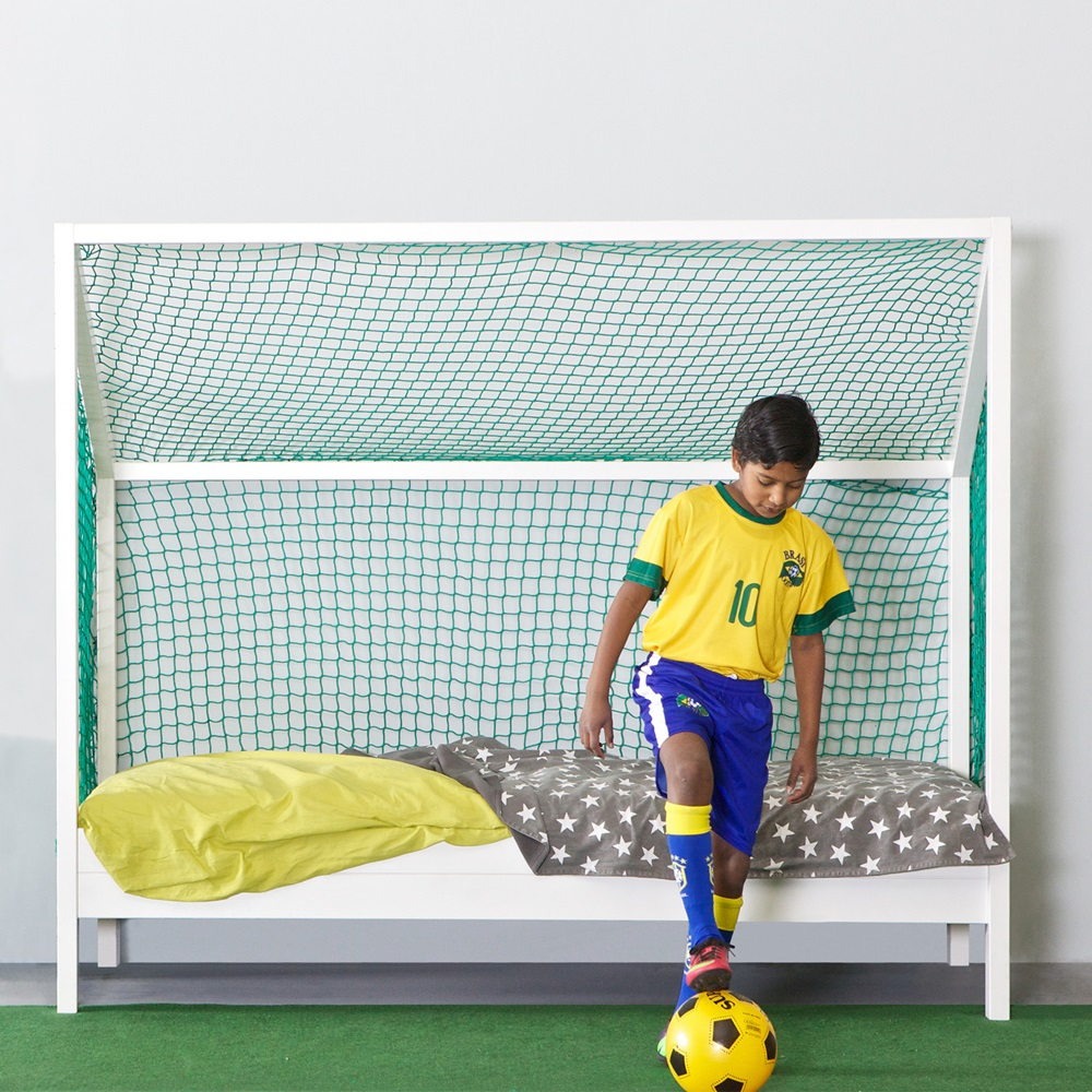Kids Football Bed in White - Kids Single Beds | Cuckooland