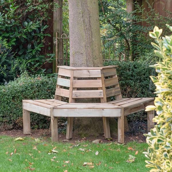 Forest Garden Tree Seat
