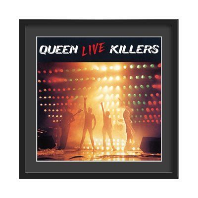 QUEEN FRAMED ALBUM WALL ART in Live Killers Print