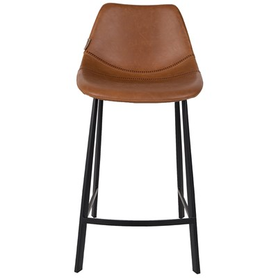 ... Franky-Stool-in-Brown.jpg ...  sc 1 st  Cuckooland & Set Of 2 Franky Counter Bar Stools In Brown - Bar Stools | Cuckooland islam-shia.org