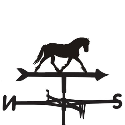 Weathervane in Frazer Horse Design