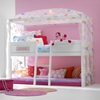 girls 4-poster bed