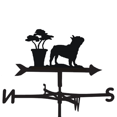 WEATHERVANE in French Bulldog Design