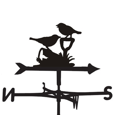 WEATHERVANE in Friends Bird Design