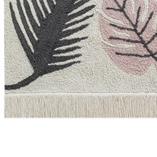 Fringe-Edging-of-Pink-and-Grey-Leaf-Rug.jpg