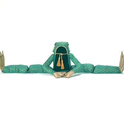 SIR LILY PAD FROG SENIOR DRAUGHT EXCLUDER