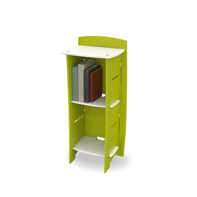EASY FIT KIDS SMALL BOOKCASE in 'Frog Collection' Design