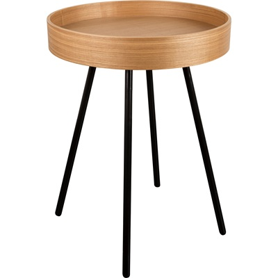 CONTEMPORARY SIDE TABLE with Removable Tray