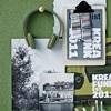 Khaki Green Funky Earphones for Teens