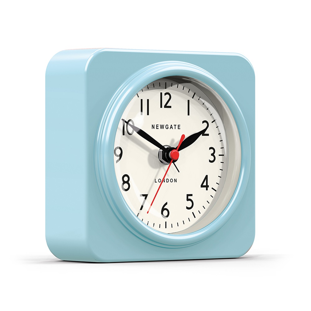 The biscuit alarm clock in blue wall clocks cuckooland - Funky cuckoo clock ...