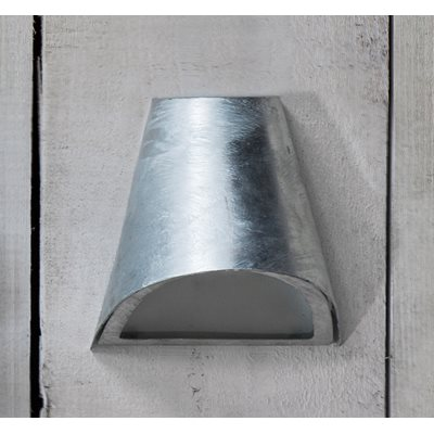 ST IVES OUTDOOR FUNNEL WALL LIGHT in Industrial Style