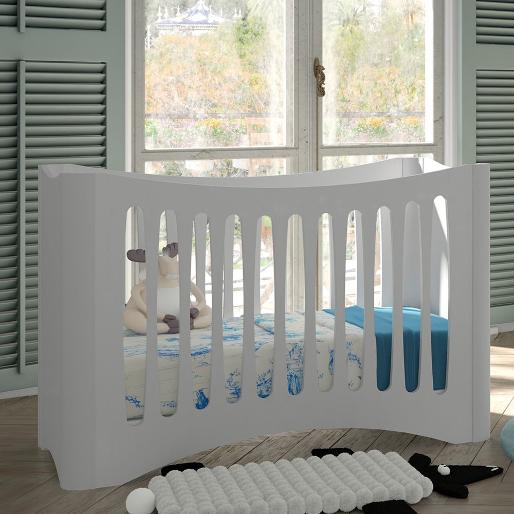baby cot in fusion design mathy by bols cuckooland. Black Bedroom Furniture Sets. Home Design Ideas