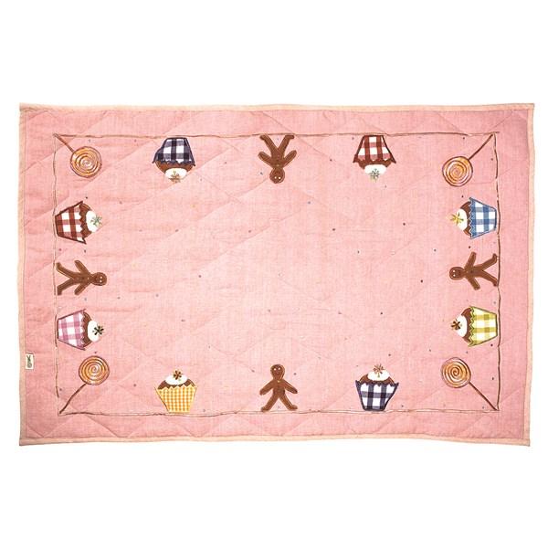GINGERBREAD Cottage Floor Quilt Large