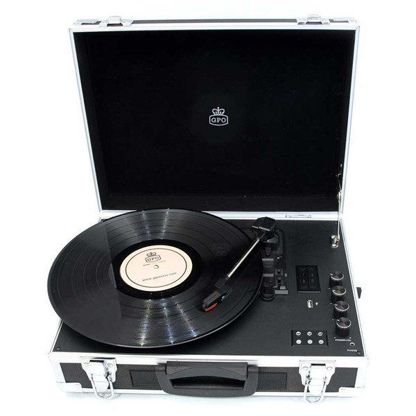 GPO Flight Record Player Suitcase