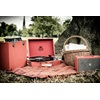 Red Attache Record Player