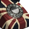 Retro Telephone in Union Jack
