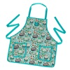 Kids Garden Apron in Woodland Animal Design.