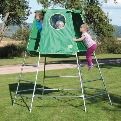 TP TOYS CHILDREN'S EXPLORER CLIMBING FRAME AND DEN