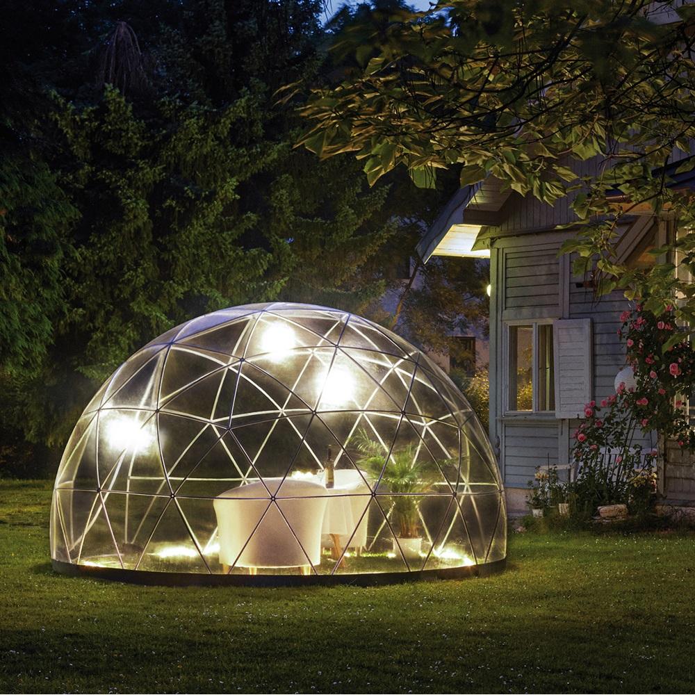 The Garden Igloo Dome - 100% Weatherproof - Garden ...