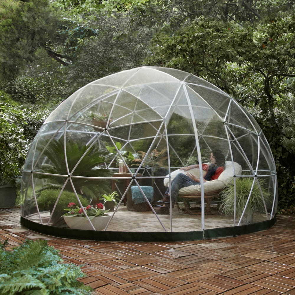 the garden igloo dome 100 weatherproof garden accessories cucko. Black Bedroom Furniture Sets. Home Design Ideas