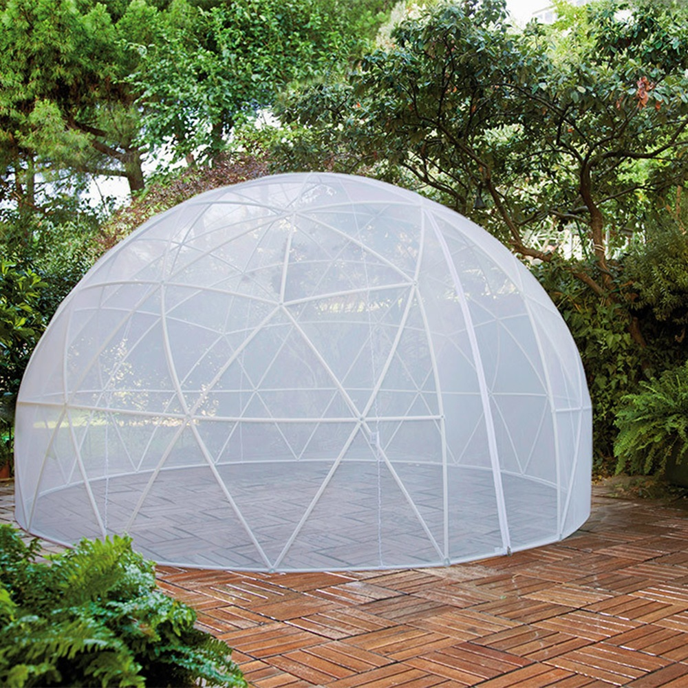 the garden igloo 360 dome with pvc weatherproof cover. Black Bedroom Furniture Sets. Home Design Ideas