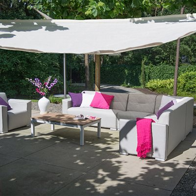 TAVIRA MODULAR OUTDOOR CORNER SOFA by 4 Seasons Outdoor