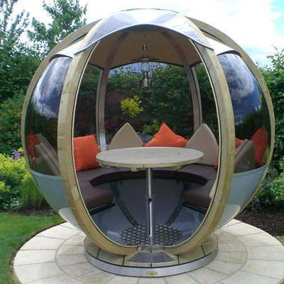LUXURY ROTATING SEATER GARDEN POD