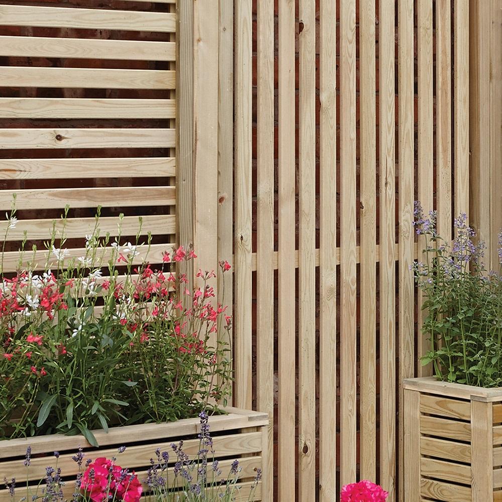 Rowlinson Vertical Slat Garden Screens
