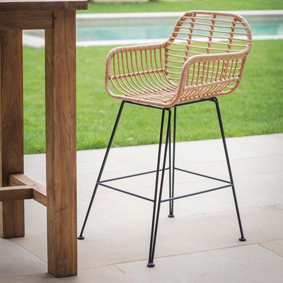 Garden Trading Hampstead Bar Stool in Bamboo