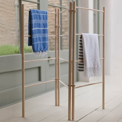 GARDEN TRADING WOODEN ZIG ZAG CLOTHES AIRER