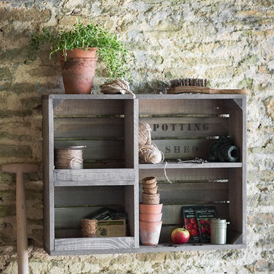 GARDEN TRADING COLWORTH WOODEN STORAGE UNIT