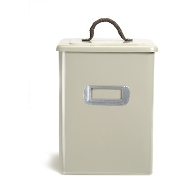 SQUARE MEDIUM PET BIN in Clay Colour