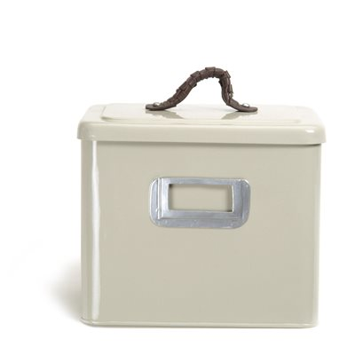 SQUARE SMALL PET BIN in Clay Colour