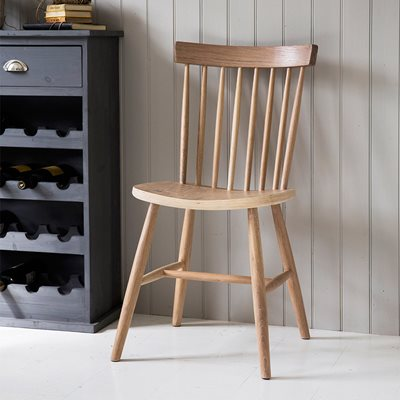 GARDEN TRADING WOODEN SPINDLE BACK CHAIR