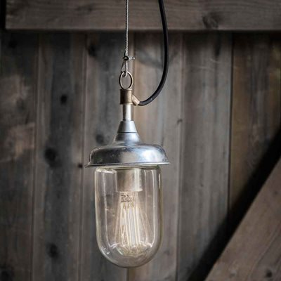 GARDEN TRADING ST IVES HARBOUR OUTDOOR PENDANT LIGHT