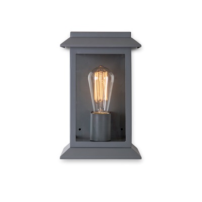 GROSVENOR GARDEN WALL LANTERN in Charcoal