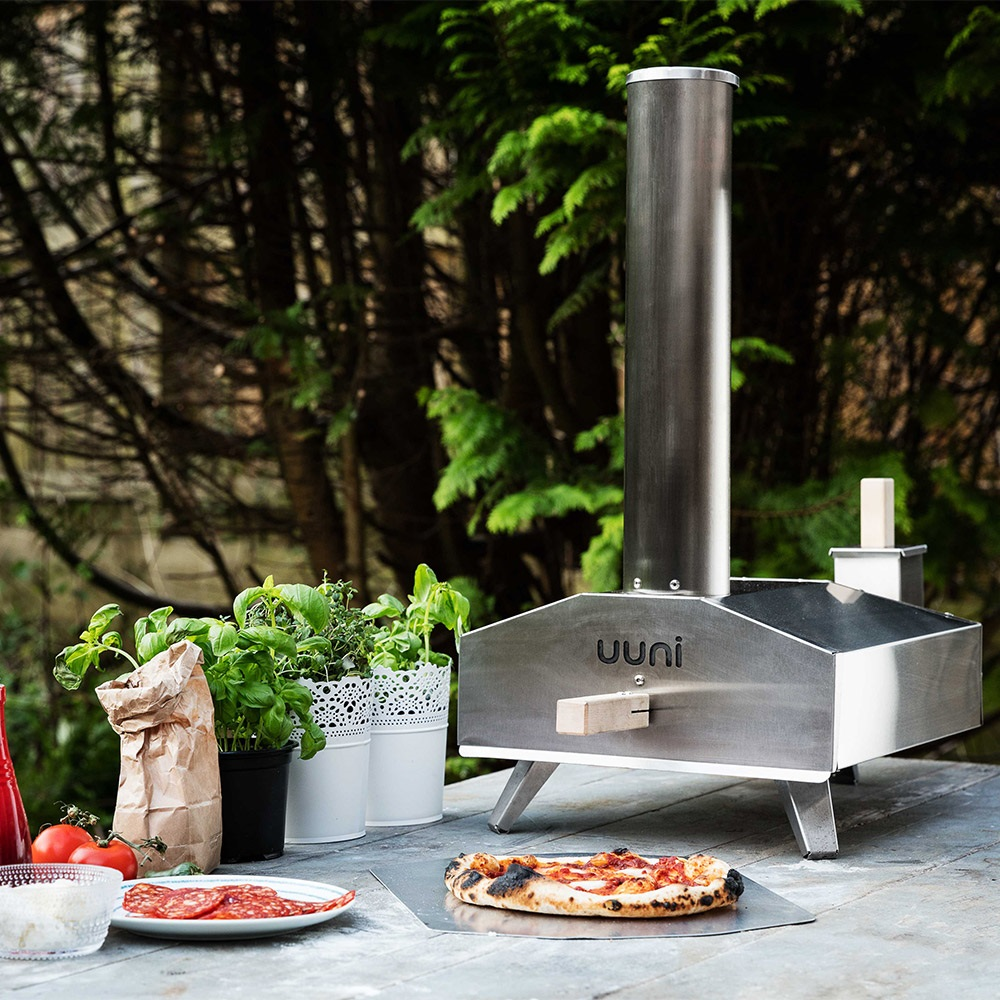 Kitchen Garden At Home: Uuni 3 Wood-Fired Pizza Oven With Stone Baking Board