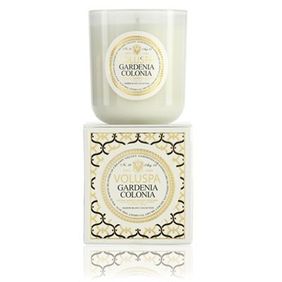 VOLUSPA CANDLE in Gardenia Colonia (Maison Blanc-12oz Boxed)