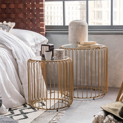 Gatsby Birdcage Nest of Tables
