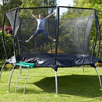 TP TOYS GENIUS OCTAGONAL TRAMPOLINE with IGLOO Door