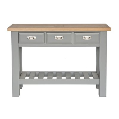WILLIS & GAMBIER GENOA CONSOLE TABLE in Oyster Grey