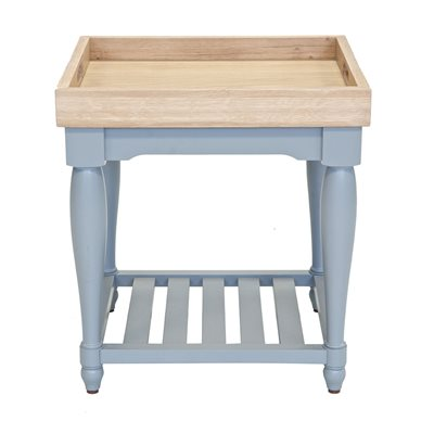 WILLIS & GAMBIER GENOA TRAY TOP TABLE in Oyster Grey